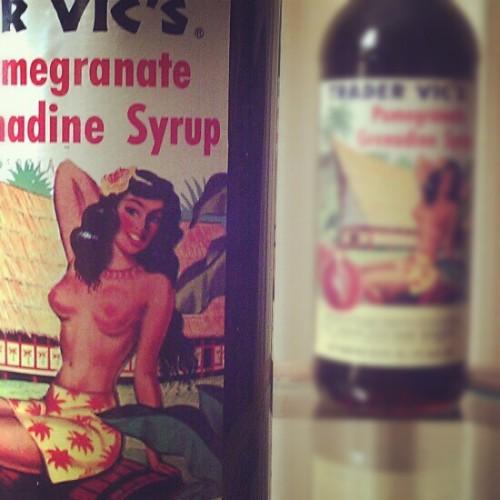 Trader Vics grenadine syrup