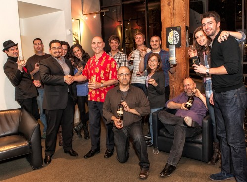 Zacapa tasting group shot